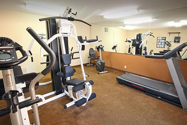 Silver Cliffs gym