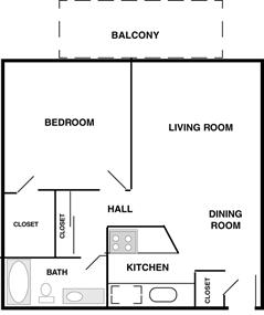 Emerald (1 Bedroom)