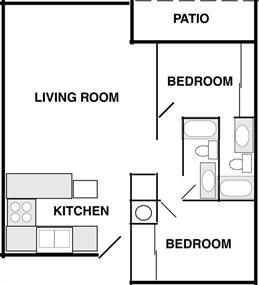 Morningside (2 Bedrooms)