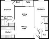 Shadow Ridge (2 Bedroom 2 Bath)